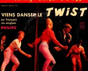 www.aukcije.hr - SP - strane: SP-JOHNNY HALLYDAY-TWIST