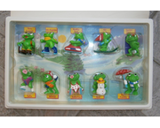 www.aukcije.hr - Kinder figurice, Pez, ...: KINDERFIGURICE - KINDER SURPRISE - DIORAMA FROGGY FRIENDS