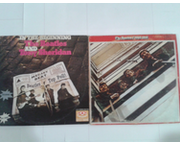 www.aukcije.hr - Film i glazba: 4LP THE BEATLES (1962-1966 i In the Beginning)... 2 dupljaka slabije očuvan